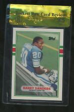 1989 Topps Traded Football #83T Barry Sanders Lions RC Rookie HOF BGS 9.5 RCR