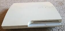 FAULTY Playstation 3 Console Only White PS3 NOT WORKING