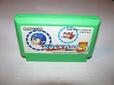 Rockman 3 Megaman Famicom NES Japan import US Seller