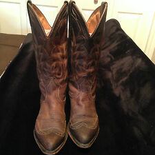 Boulet Women's Cowboy Boots with overlay size 5.5Super CUTE-So well made!!