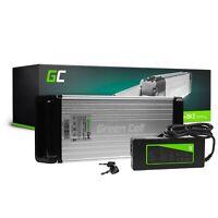E-Bike Akku 36V 15Ah Li-Ion Elektrofahrrad Rear Rack Batterie mit Ladegerät
