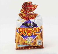 2ea HAITAI 85g Matdongsan Peanut Crunchy Snack Puffed Brittle Stick Cracker moo