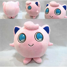"Pokemon Plush Toy Kids 6"" Cute Anime Pocket Monster Jigglypuff Stuffed Doll Gift"