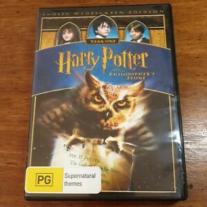 Harry Potter AND THE PHILOSOPHER'S STONE DVD R4 LIKE NEW FREE POST