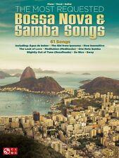 The Most Requested Bossa Nova & Samba Songs Sheet Music Piano Vocal 000154900