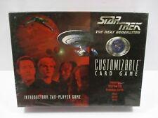 1996 Decipher Star Trek The Next Generation Sealed Customizable Card Game - NEW