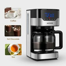 Aicook Coffee Maker 10 Cup Programmable Coffee Machine