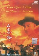 Once Upon a Time in China and America DVD Movie English Sub Region 0 Jet Li