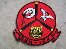Vietnam era USMC Marines 164th HMM Helicopter Squadron Patch