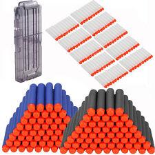 300stk Nachfüll Refill Pfeile Elite Clip Darts für NERF N-Strik + Darts Magazin