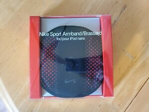 (2) NEW Nike Sport Armbands Brassards for iPod Nano Exercise Running Jogging Red