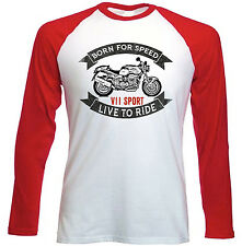 MOTO GUZZI V11 SPORT-NUOVO Amazing Graphic T-Shirt S-M-L-XL - XXL