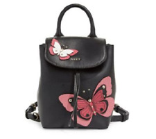 DKNY Lex Leather Butterfly Garden Backpack