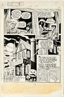 House of Mystery 256 (1978) Original art page 1 DC comic Ayers Howard Wrightson
