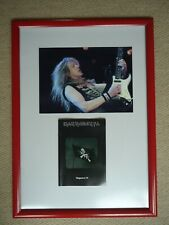 More details for iron maiden fan club magazine no 76 + iron maiden photo rare gig image two gems