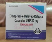 Omeprazole 20 mg OTC 200 Capsules Acid Re flux Heart Burn Reducer Treatment