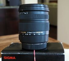 Sigma 17-70mm f/2.8-4 DC Macro OS HSM Lens for Canon. Very Good Condition