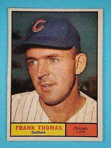 1961 Topps Frank Thomas Chicago Cubs #382 EX-NM ⚾