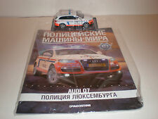 1/43 AUDI Q7 Police Cars Of the World #28 + DeAOSTINI MAGAZINE