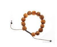 Braccialetto Mala Tibetano Perle IN Semi Da Rudraksha 14 MM 3340