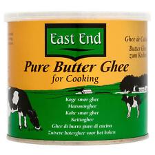 East End Pur beurre ghee pour la cuisine 500 G. convient aux végétariens.