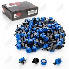 100x Micro Dripper Mini Tropfer Garten Bewässerung druckreguliert blau 2L/h