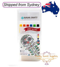 PRIMARY COLOURS Sugar Crafty Edible Ink Markers Pens 6 Colours - Set 1