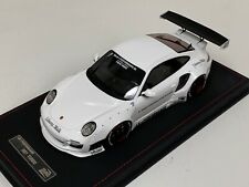 1/18 D&G Track Collectoin Porsche 911 Liberty walk LB Performance White Leather
