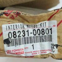 Toyota 08231-00801 Interior Noise Kit Genuine OEM New Old Stock Storage Bad Box