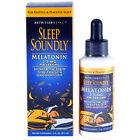 Sleep Soundly Melatonin Liquid Fast Acting Liquid 2oz -Expiration Date 08-2022-