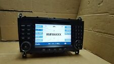 RADIO APS Navi CD Mercedes W203 FL C Klasse Navigation  COMAND Autoradio BE6096