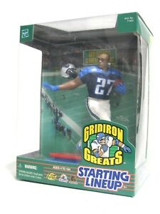 Starting Lineup Action Figure Grid Iron Greats Eddie George Tennessee Titans