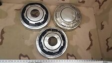 (3) Dodge Dog Dish Hub Caps Vintage 1/2 Ton 4x4