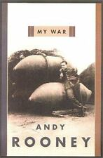 MY WAR Andy Rooney Hardcover