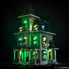 LIGHT MY BRICKS - LED Light Kit for LEGO Haunted House set 10228 Lego LED Kit