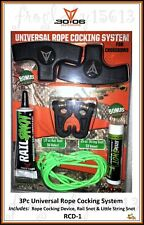 30-06 Outdoors 3Pc Universal Crossbow Rope Cocking System - Rcd-1 - Auth Dealer