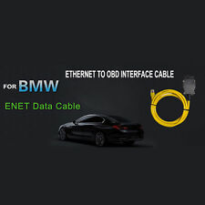 New 2M Ethernet to OBD Interface Cable E-SYS ICOM Coding F-series for BMW ENET Z