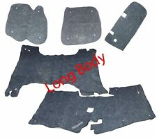 Long Body Floor Mat Liner Felt Carpet Set Suzuki Samurai SJ413 SJ410 Sierra