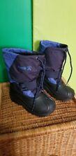 Kamik Kids Snow Boots Waterproof, Navy Blue, Sz.12, Pre-Owned