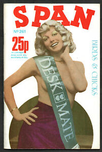 SPAN No261 May 1976:Katya Wyeth,Ann Hayward,Sherrie Marsh,Heather Chatsworth