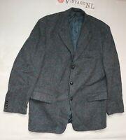 CARL GROSS Harris Tweed HERREN Sakko Gr. 27 B-wahl Jacket luxus fein