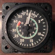 "Aerosonic Cabin Altitude Differencial Pressure 2.25"" Gauge 55050-0107"