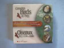 2000 ROYAL CANADIAN MINT BOX SET 4 CANADA'S BIRDS OF PREY 50 CENT PIECES SEALED