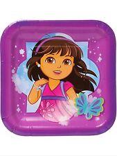 "Dora and Friends Party Supplies 7"" Paper dessert plates 8ct."