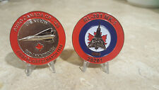 Avro Arrow 60th Anniversary First Flight Challenge Coin