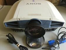 SONY VPL-FX50 LCD PROJECTOR, SHORT THROW LENS 0.8 NEW LAMP!!