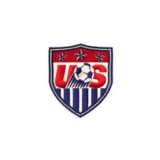 USA FIFA WORLD CUP IRON-ON PATCH CREST BADGE 2 1/2 X 2 1/4 INCHES .. NEW