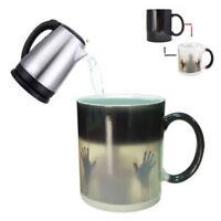 Magic Heat Changing Mug Color Cup Coffee Sensitive Walking Dead Halloween Gift