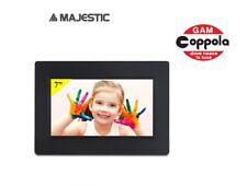"FOTO CORNICE DIGITALE 7"" A LED MAJESTIC DF 537HD USB SD MMC SDHC 16:9 ITALIA"