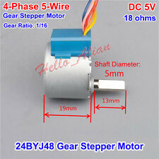 Gear Stepper Motor  24BYJ48 DC 5V 4-Phase 5-Wire Micro Reduction Stepping Motor